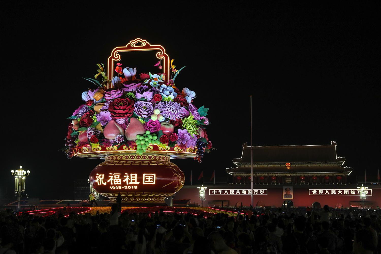 【大型活动清洁保障】建国70周年庆典天安门广场环境卫生保障