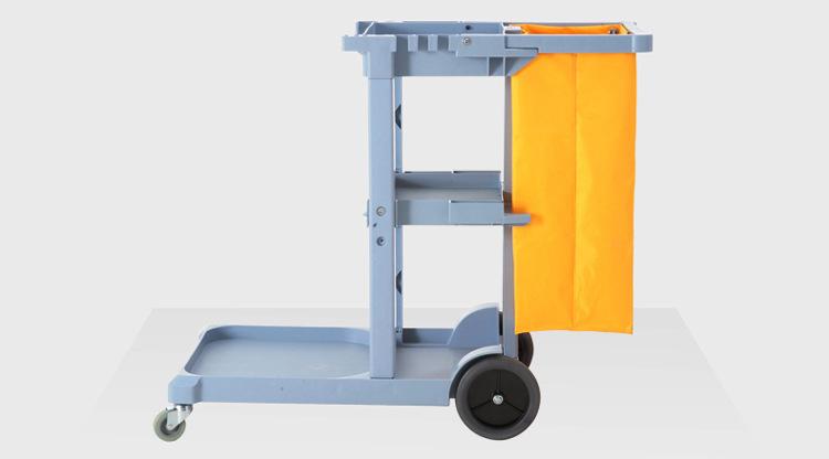 【保洁工具】多用途清洁杂物车保洁车清洁手推车