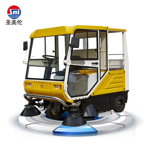 【驾驶式扫地机】SML-S10全封闭驾驶式电动扫地车 适合风沙等恶劣环境使用